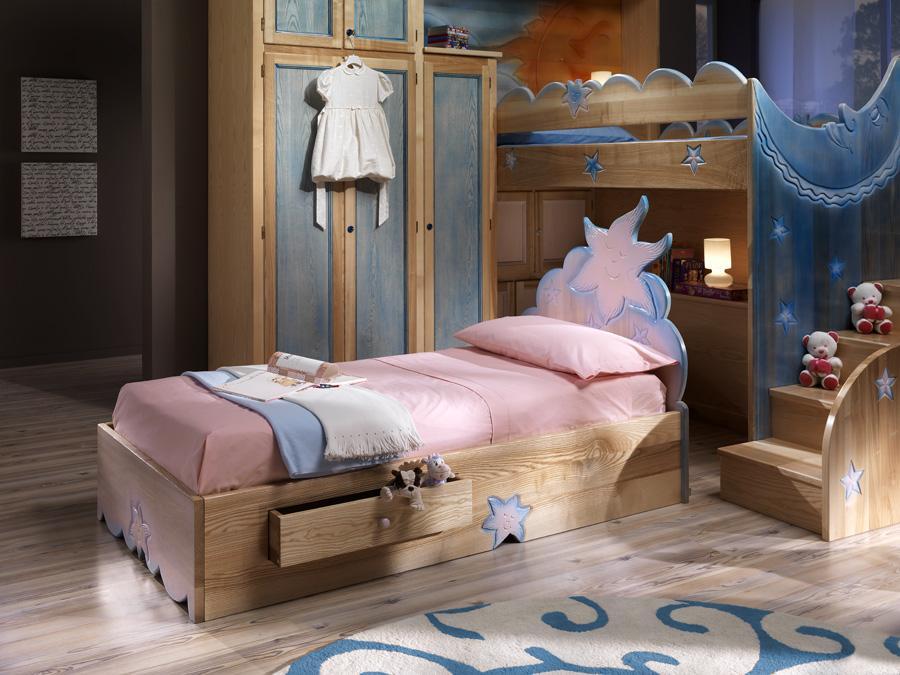 Maison cielo venezia sole e luna letti a baldacchino camere da letto arredamento libri antichi - Camere da letto bimbi ...