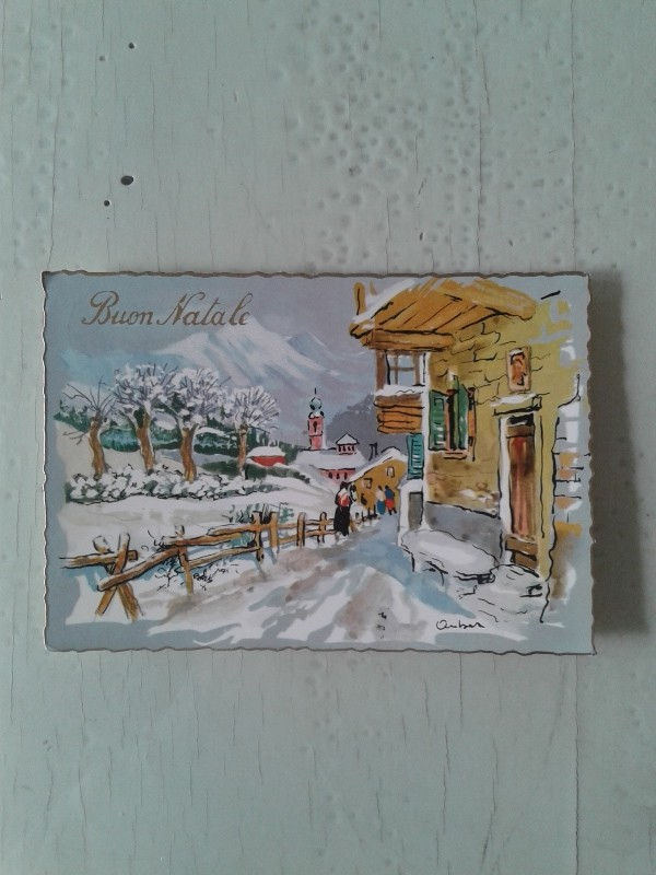 Immagini Cartoline Natale Vintage.Cartoline Natale Vintage Maison Cielo Venezia