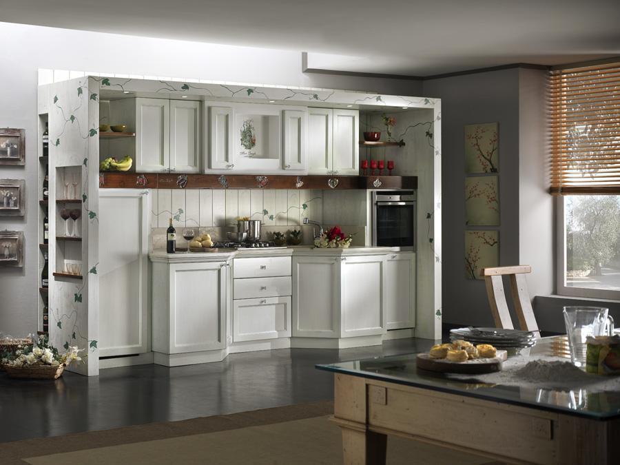 Cucina edera senza elettrodomestici con marmo maison cielo venezia - Cucina senza elettrodomestici ...