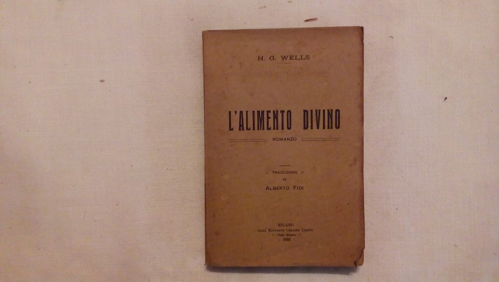 L'alimento divino - H.G. Wells 1922